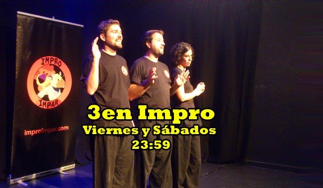3 en Impro