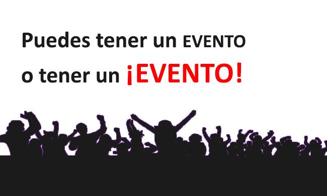 Eventos a particulares