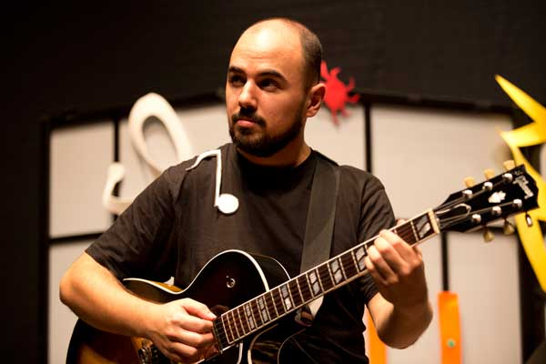 Nuestro músico Miguel Domingo