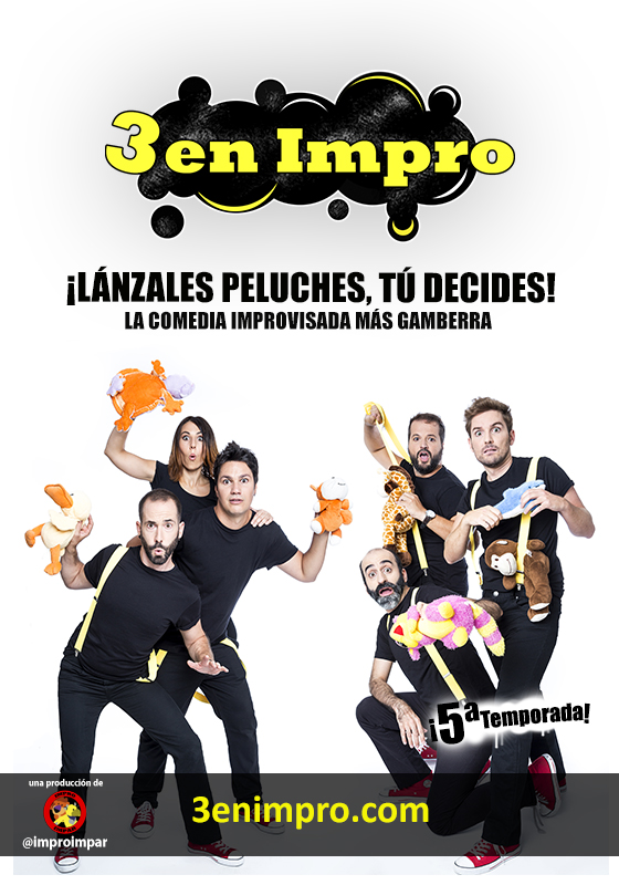 Cartel 3 en Impro - 5ª temporada