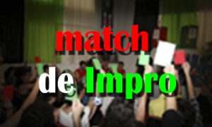 Cartel Match de Impro