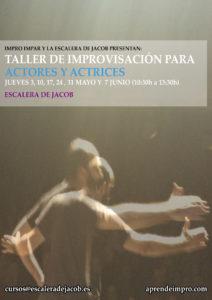 Taller de improvisación para actores y actrices - jueves de mayo y junio