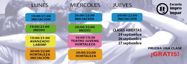Horario Clases curso 2018/2019