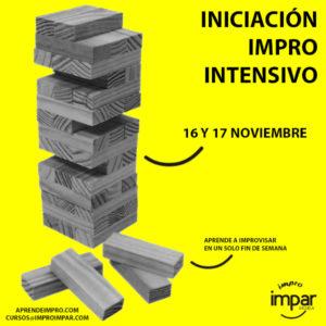 Curso Intensivo de Iniciación a la Impro - 16/17 noviembre
