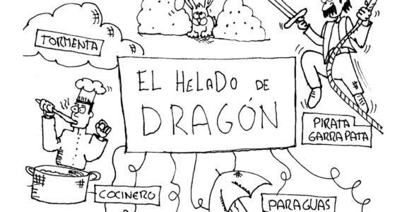 El helado de dragón