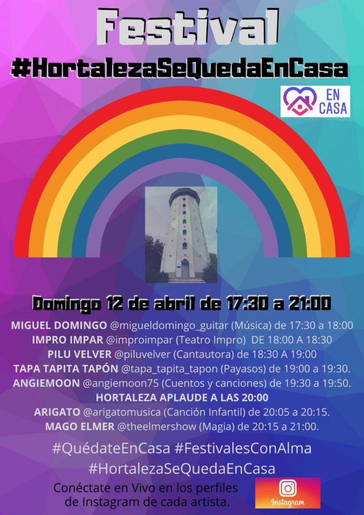 Festival #HortalezaSeQuedaEnCasa