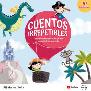 Cuentos Irrepetibles Online - sábados 11.00h