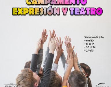 Inscripción Campamento Expresión y Teatro