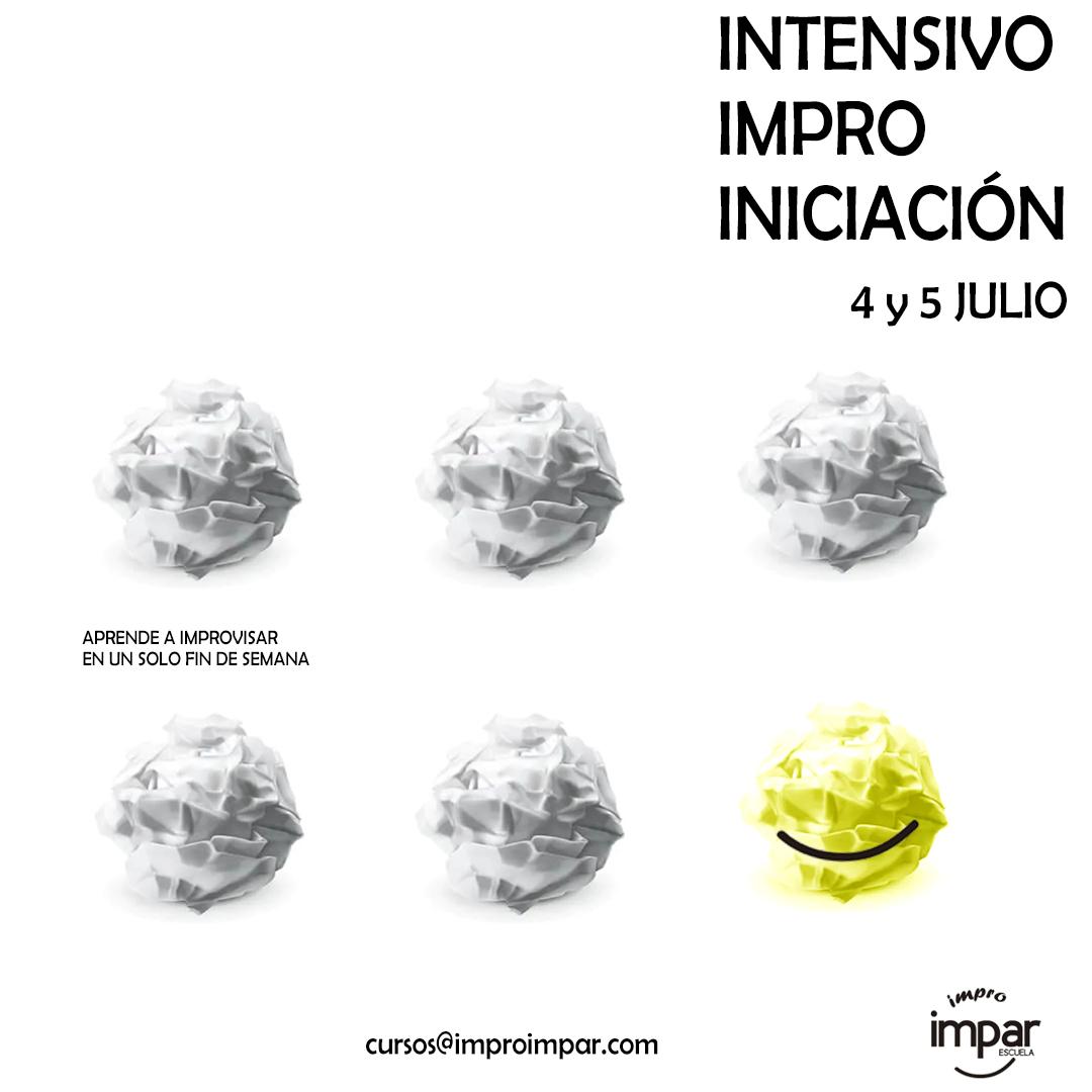 Descubre el estilo Impro Impar en nuestros talleres instensivos de verano