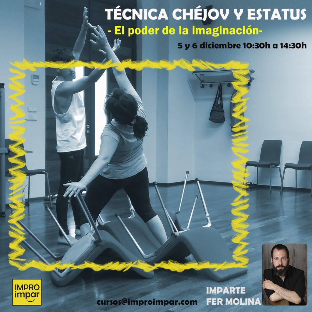 Taller Intensivo: Técnica Chéjov - 5 y 6 de diciembre 10.30 a 14h.