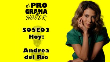 """Andrea del Río en el Programa por Hacer: """"Servir y Proteger era como una oposición"""""""