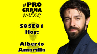 """Alberto Amarilla en El Programa por Hacer: """"Cuándo encañono un arma digo niiiiiii"""""""