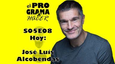"""Jóse Luis Alcobendas en El Programa por Hacer 5×08: """"El teatro me cambió la vida"""""""