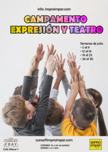 Campamento Urbano: Expresión y Teatro