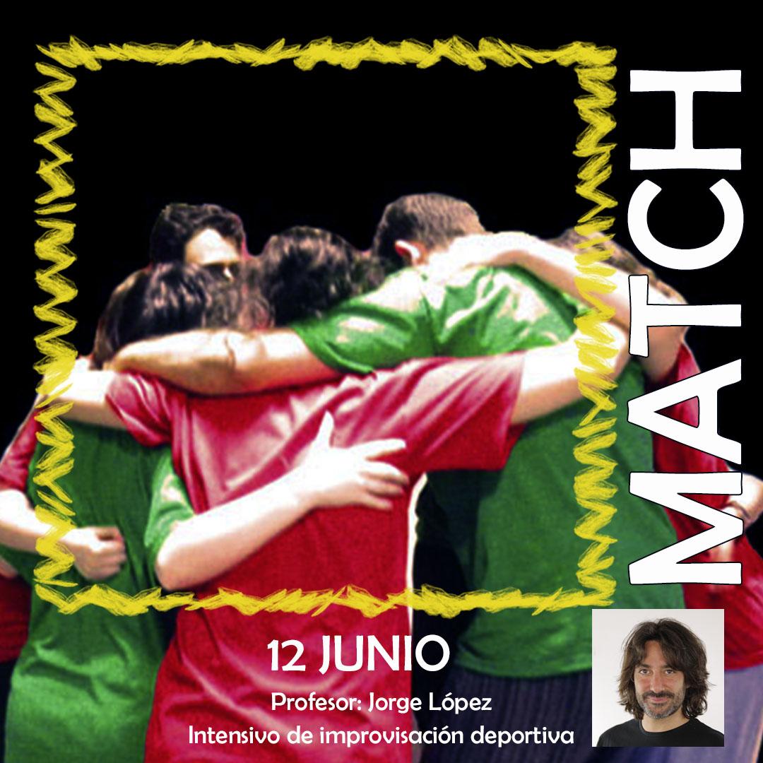 Nueva sesión de especialización en Match de Impro
