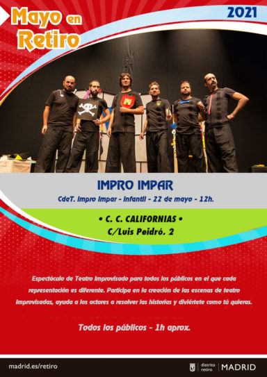 Mayo en Retiro: Impro Impar show familiar