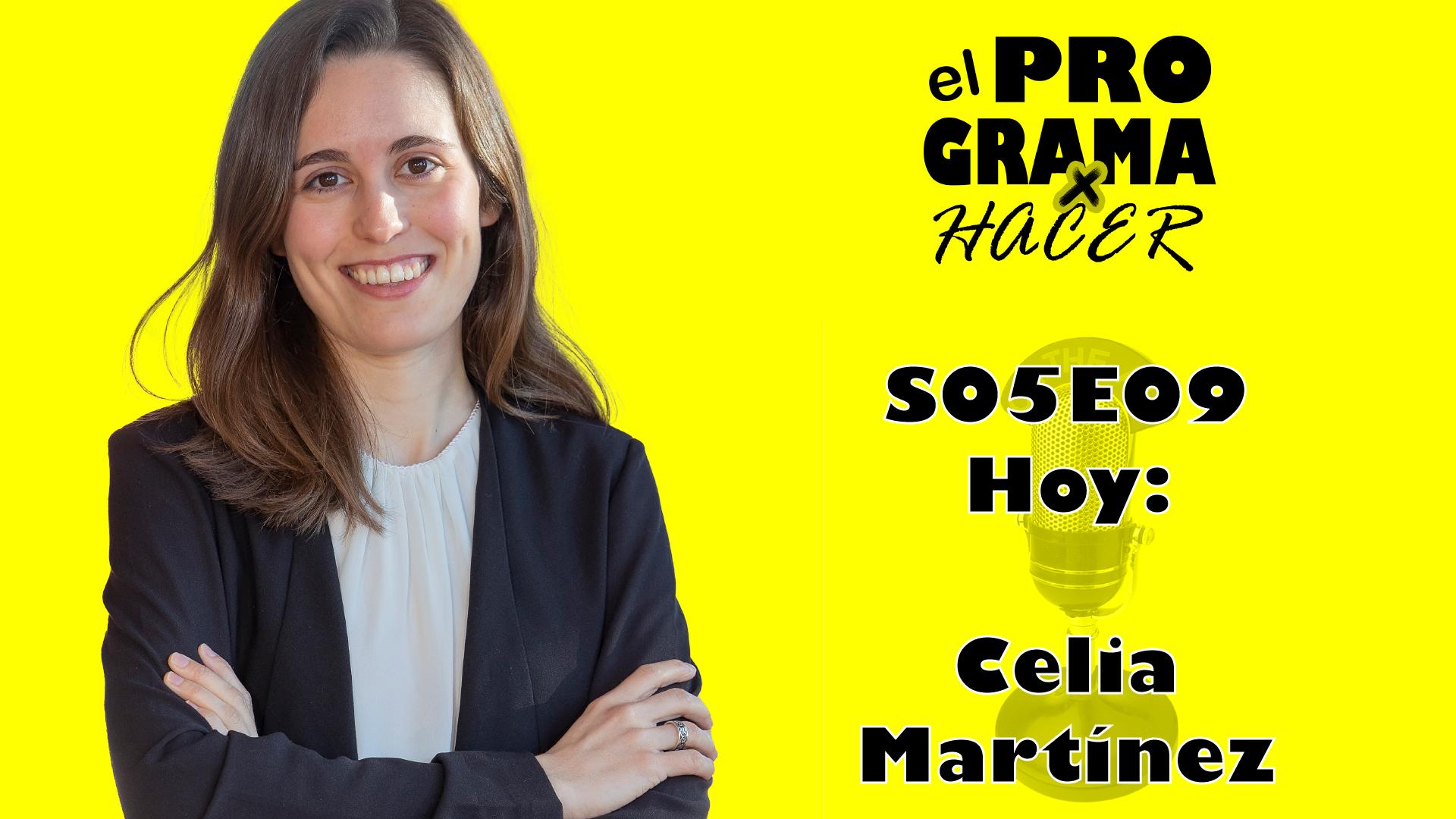 """Celia Martínez en El Programa por Hacer 5×09: """"Disfruta la comida de una manera consciente"""""""