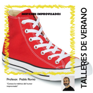 "Taller de impro: ""Sketches improvisados"" por Pablo Romo"