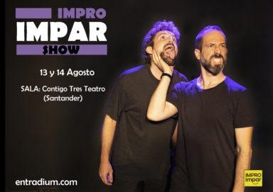 Volvemos a Contigo Tres (Santander) con show y taller de impro en agosto