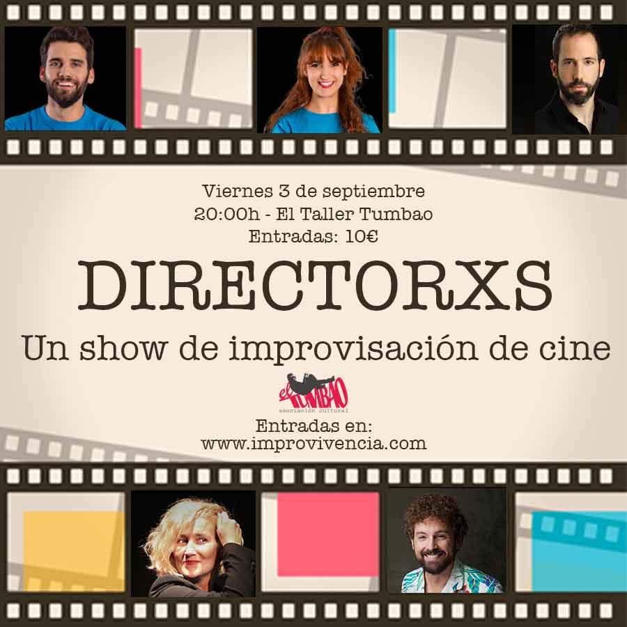 Directorxs - 3 de septiembre - El Taller Tumbao (Alicante)