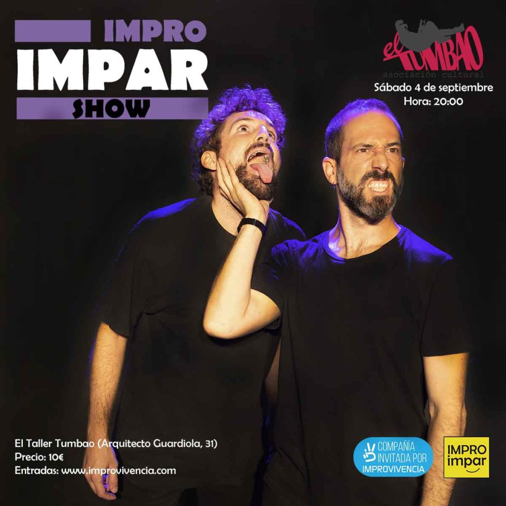 Impro Impar show - 4 de septiembre - El Taller Tumbao (Alicante)