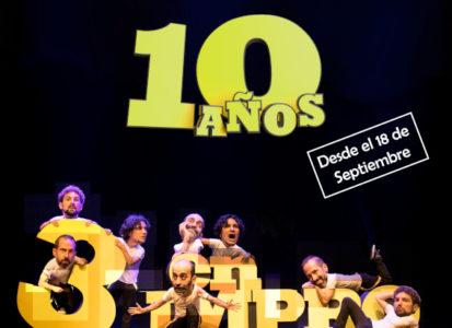 3 en Impro vuelve para cumplir 10 años en los escenarios